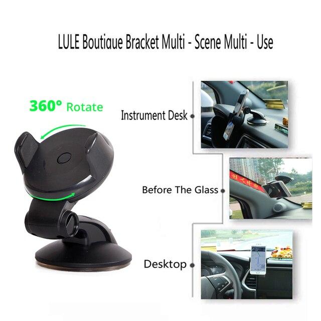 Universal Mobile Car Phone Holder For Phone in Car Holder Windshield Cell Stand Support Smartphone Voiture Suporte Porta Celular 2