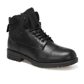 FLO RANDEL-TRKRK czarne męskie buty KINETIX tanie i dobre opinie Podstawowe Sztuczna skóra ANKLE