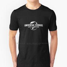 Universal studios hollywood-alta qualidade-camiseta 100% puro algodão universal estúdios uso isands de aventura ush universal