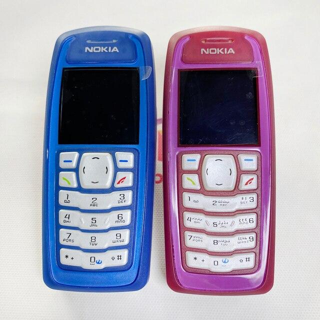 Darmowa wysyłka odnowiony oryginalny telefon komórkowy Nokia 3100 Unlocked i roczna gwarancja