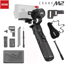 Zhiyun Crane M2 3-Axis Handheld Gimbal for Mirrorless Cameras Smartphones OSMO Action Stabilizer PK FeiYu G6 Plus DJI Ronin S цена и фото