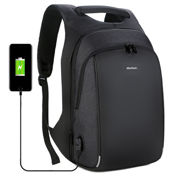Multifunction USB charging anti theft  Reflections Men 15 inch Laptop Backpacks  Fashion Male Travel backpack Large Capacity bag