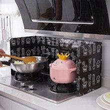 1pc de alumínio dobrável cozinha fogão a gás defletor placa kichen acessórios suprimentos cozinha frigideira óleo tela respingo