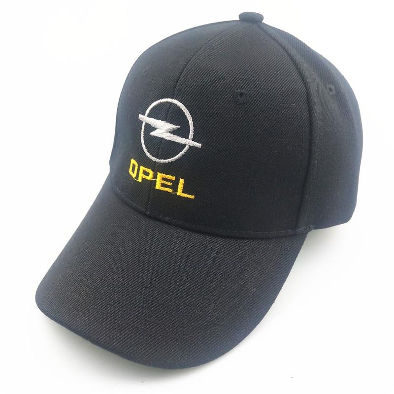 Unisex Cotton Car Logo Performance Baseball Cap Hat For Opel Car Hat Embroidery Dad Hat Trucker Snapback Hip Hop Cap Streetwear