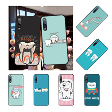NBDRUICAI Wisdom Teeth Dentist Tooth LoveClear Phone Cover for Huawei Honor 20 10 9 8 8x 8c 9x 7c 7a Lite view(China)