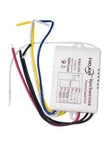 Image 3 - ワイヤレスリモート制御光スイッチon off RF433 1/2/3/4方法220 220vデジタルリモートコントロールスイッチライト/ランプ電球