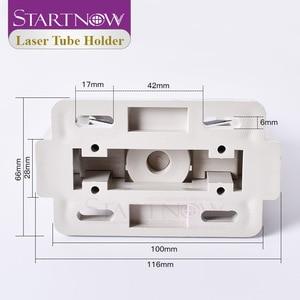 Image 4 - Startnow CO2 rura laserowa uchwyt do montażu elastyczna lampa z tworzywa sztucznego wsparcie D50 80 regulowany uchwyt podstawa do części maszyn do cięcia laserowego