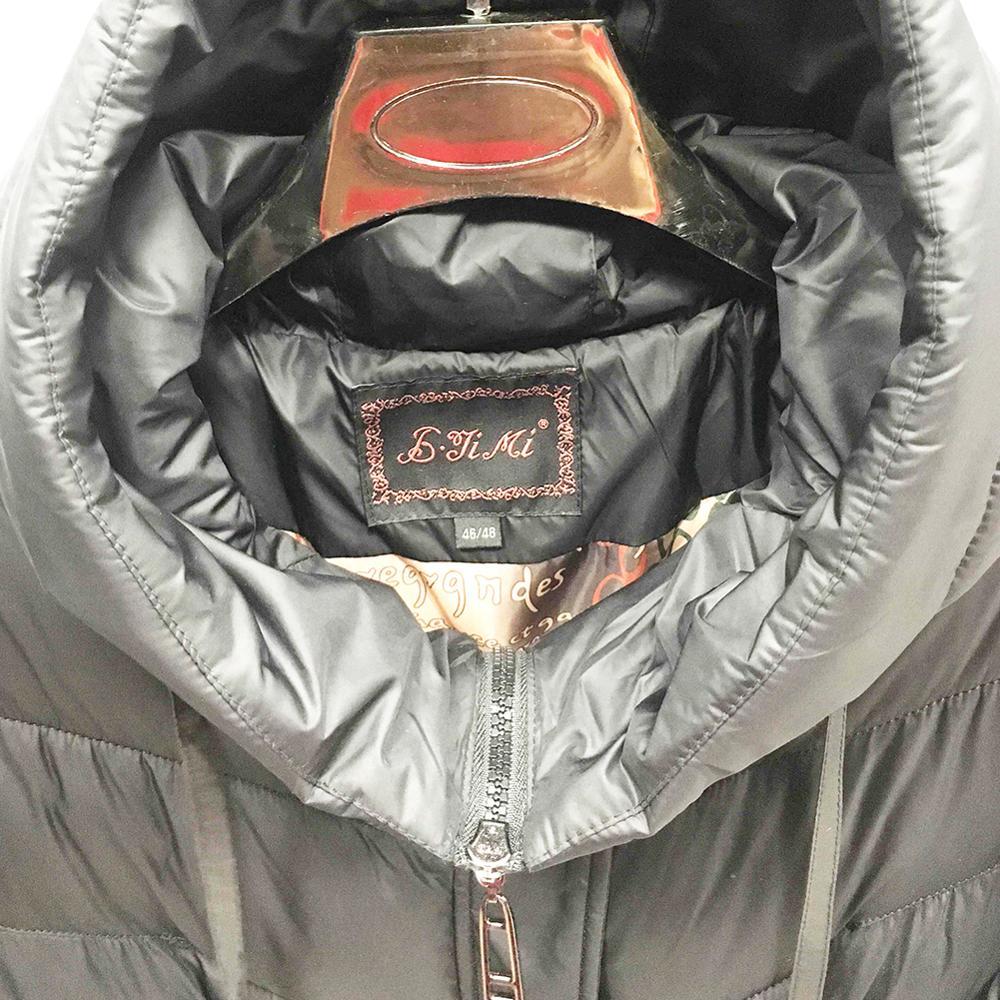 Nouveau printemps hiver Femmes Mode Bas sweatshirt à capuche Long Down Parkas Vestes En Coton Épais Femme Long manteau chaud vêtements - 5