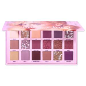 Image 3 - UCANBE Changeable Pink Violet Nude Eye Shadow Palette Makeup 18 Colors Matte Shimmer Glitter Eyeshadow Powder Waterproof Pigment