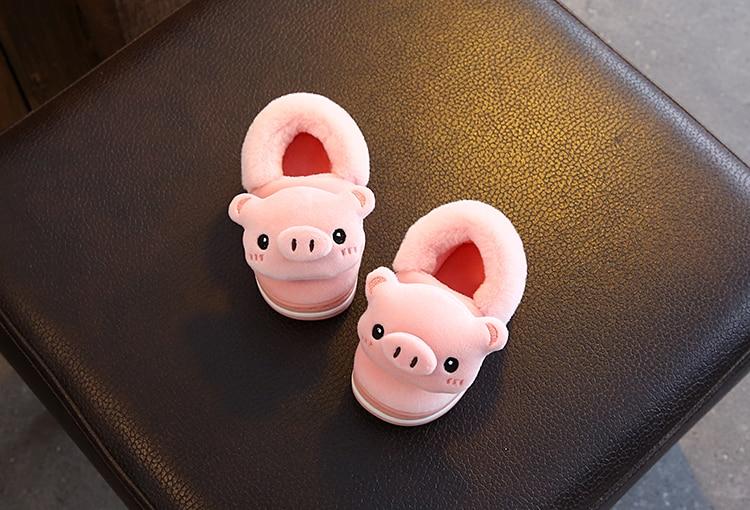 de algodão adorável crianças bebê sapatos de