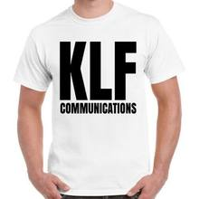 Die KLF Communicationst 90s Rave Säure Haus Timelords Mu Mu Retro T Hemd 614(China)
