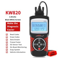 KONNWEI KW820 Automotive Scanner EOBD OBD2 Diagnostic Tool Live Code Reader&Scan Tools compliant US, European and Asian vehicle