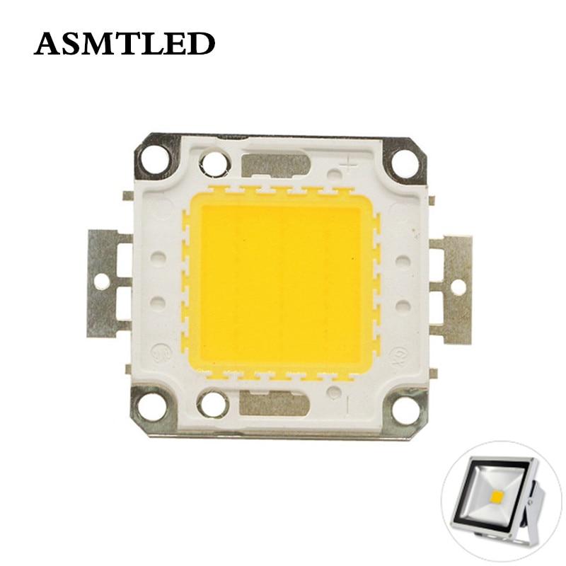Bombilla de Chip LED de alta potencia, luz de 10W, 20W, 30W, 50W, 100 W, blanco cálido, RGB, SMD, cuentas de luz de 10, 20, 30, 50 y 100 W para luz de comida