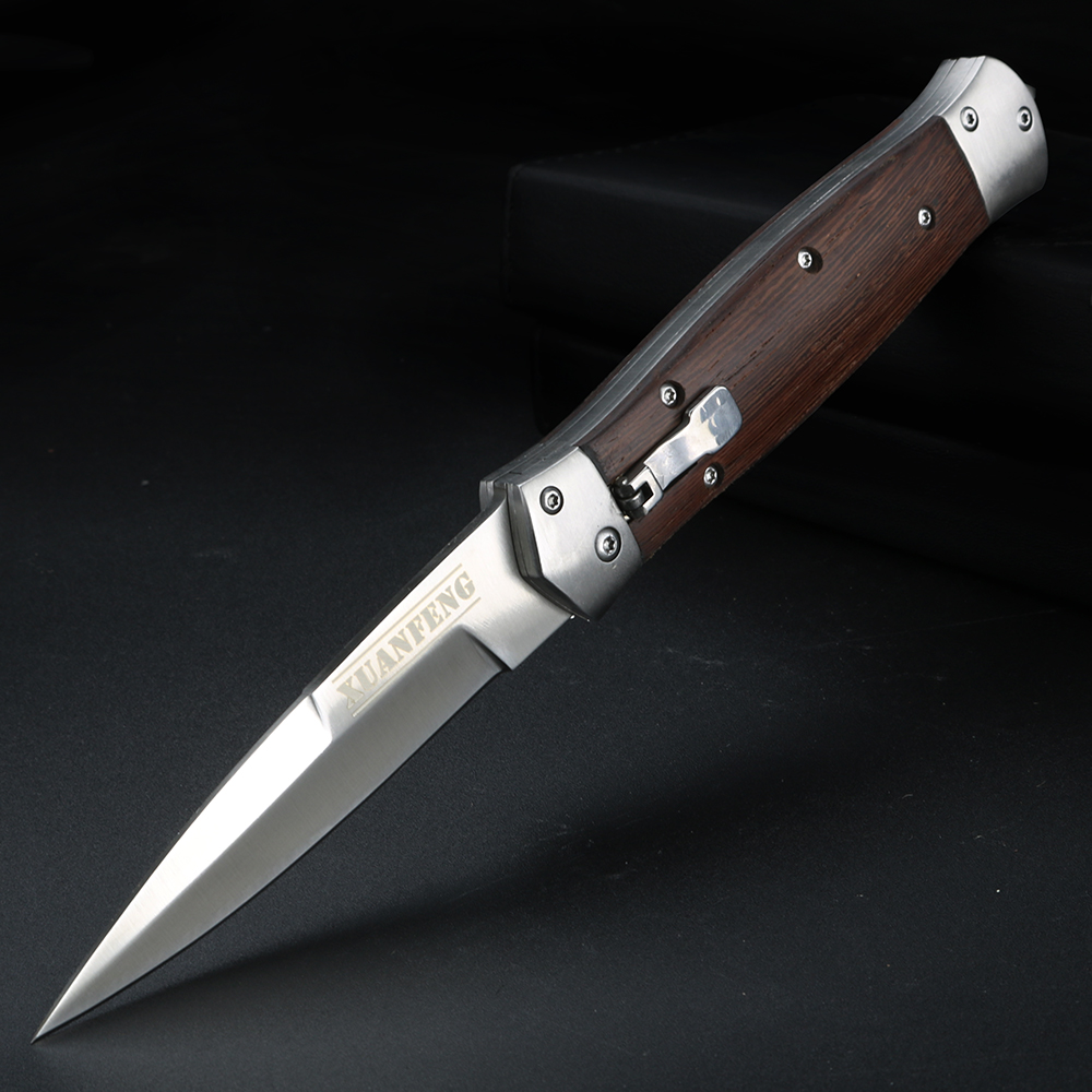 Pocket Blade Survival 57HRC Outdoor Clip Blade With Knives FOMALHAUT 5Cr15 Steel  Folding Knife Knifes Camping EDC Tools Folding