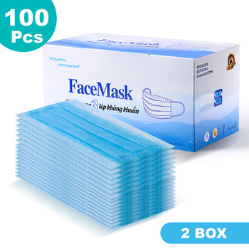 100/200/300/500 pcs Disposable Face Mouth Mask Nonwoven Masks Anti PM2.5 Hygiene Safety Protective Mouth Mask Mouth Face Masks