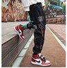 Hip hop Pants Men Loose Joggers Print Streetwear Harem Pants Clothes Ankle length Trousers 27