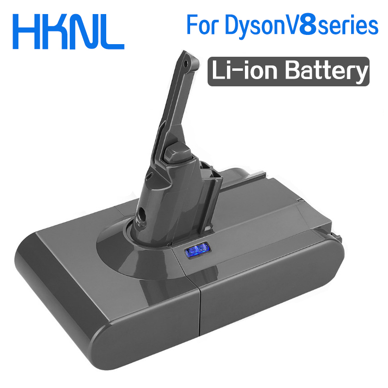 9800mAh 21.6V Battery For Dyson V8 Battery For Dyson V8 Absolute /Fluffy/Animal/ Li-ion Vacuum Cleaner Rechargeable Battery