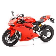 Maisto aleación de carbono para motocicleta, 1199 Panigale R1200GS R, nineT YZF R1 Z900RS Ninja H2 R ZX 10R, juguete de modelo de motocicleta