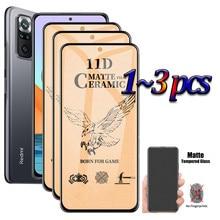 Matte Frosted แก้ว Redmi Note10 PRO Max filmป้องกันหน้าจอป้องกันฟิล์มสำหรับXiaomi Note 10 PROเซรามิคแก้วNote10PRO