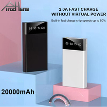 PINZHENG 20000mAh Power Bank For Xiaomi mi iPhone 11 Pro Max