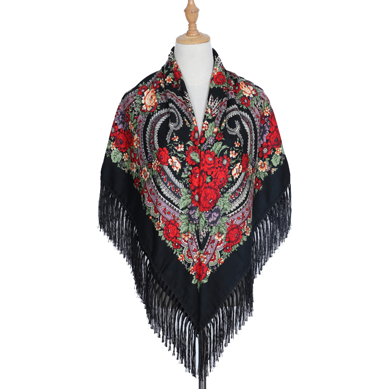 Excellent Womens Fall Winter Scarf Classical Tassel Tartan Plaid Scarf Warm Sonant Kerchief Wrap Shawl Scarves