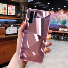3D Prism Mirror Diamond Phone Cases For Huawei P30 Pro P30 Lite Mate 20 30 Lite