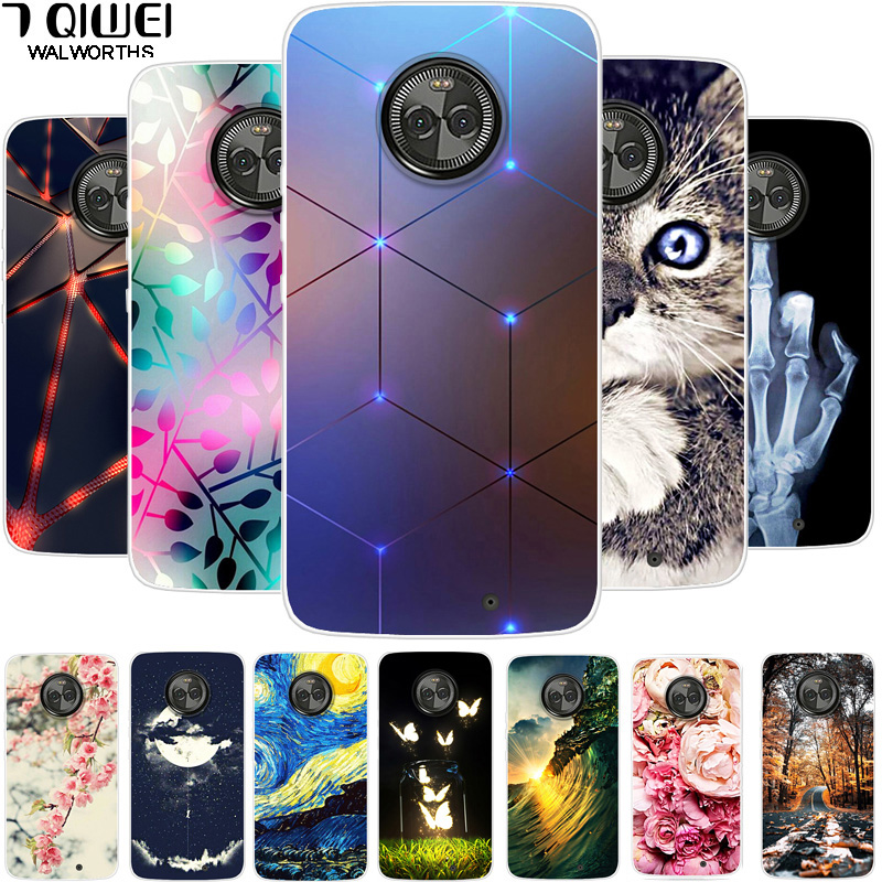 Case for <font><b>Motorola</b></font> <font><b>Moto</b></font> X4 Case Cover for <font><b>Motorola</b></font> <font><b>Moto</b></font> <font><b>XT1900</b></font> X 2017 (4th Gen) Cover Para TPU Silicon for <font><b>Motorola</b></font> <font><b>Moto</b></font> X4 Coque image