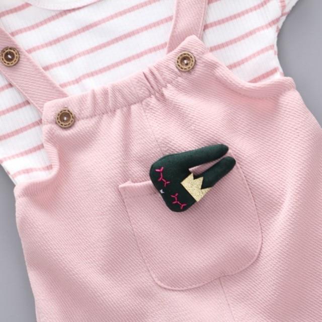 Фото комплект летней одежды для девочек; футболка одежда малышей; цена