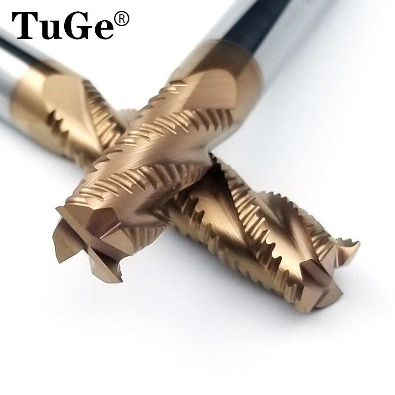 HRC60° (φ4×10×50×4F) Carbide End Mill Bits Milling Cutter 4-Flutes (1pcs)