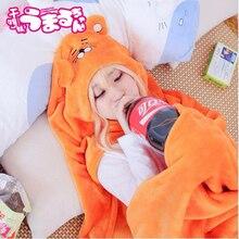 Umaru Chan Anime Cosplay Costume Himouto Umaru-Chan Cloak Doma Soft Hoodie Cape Party Halloween For Women