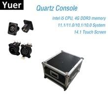 Bühnen Beleuchtung Konsole DMX512 Controller Quarz 11,1/11,0 System Super Kompakte Für Dj Licht Disco Moving Head LED Par konsole