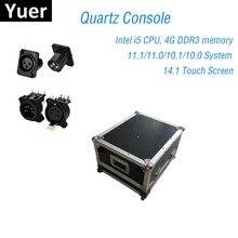 무대 조명 콘솔 dmx512 컨트롤러 석영 11.1/11.0 시스템 슈퍼 컴팩트 dj 라이트 디스코 이동 헤드 led 파 콘솔