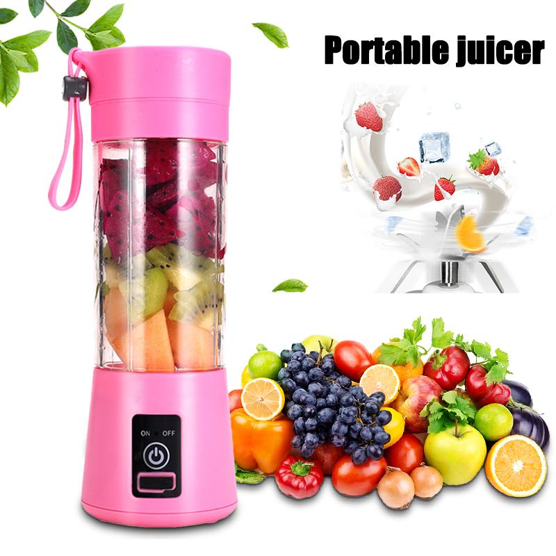 usb portable blender electric juicer machine Home mini food processor personal cup Lemon Squeezer Handheld smoothie Blender