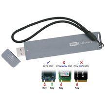 Внешний USB 3.0 поступив Conveter адаптер флэш-диск тип Б/М-ки основном ССД м2