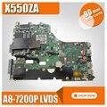 X550ZA для ASUS материнская плата для ноутбука X550ZE X550ZA K550Z A555Z VM590Z A8-7200P LVDS Оригинал mothebroard 100% ТЕСТ ОК