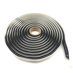 Image 1 - 4M Headlamp Glue Black Butyl Rubber Glue Headlight Sealant Retrofit Reseal Hid Headlamps Taillight Shield Glue Waterproof Tapes