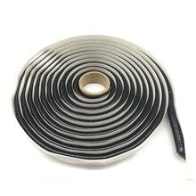 4M 전조등 접착제 블랙 부틸 고무 접착제 헤드 라이트 실란트 개장 재 밀봉 Hid 헤드 램프 미등 실드 접착제 방수 테이프