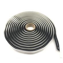 Pegamento para faro delantero de 4M adhesivo de goma de butilo negro, sellador para faro trasero, resellado Hid, protector de luz trasera, cintas adhesivas a prueba de agua