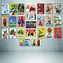 vespa póster RETRO VINTAGE