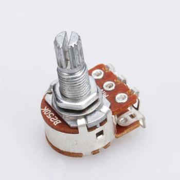 2x Dual Deck B 250K Ohm Pickups Potentiometer Variable Widerstand Linear Schalter Topf