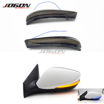 Dynamic Turn Signal LED Side Blinker Indicator Mirror Sequential For Hyundai Elantra Avante MK5 MD 11-15 Veloster