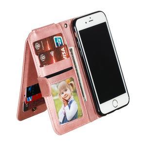 Image 4 - Nine Cards para Huawei P40 P20 P30 P Smart Z Plus Lite Pro 2019, Funda de cuero con tapa, funda de soporte de cartera, fundas de teléfono