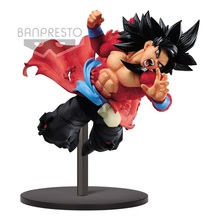 Оригинальная фигурка героя мультфильма Tronzo Banpresto Dragon Ball, на 9 годовщин, SSJ4, Goku, XENO, ПВХ, Супер Саян, 4 фигурки