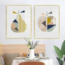 Абстрактная Геометрическая настенная Картина на холсте постеры