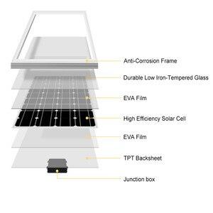 Image 4 - Anaka 18V 10W/20W/30W/40W/50W/80W pannello solare kit di celle solari di energia solare fotovoltaica pannelli solari per la casa con 10A controller