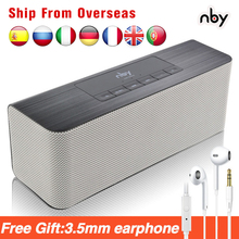 nby 5540 Portable Bluetooth Speaker FM Radio Wireless Sub woofer Loudspeaker 3D Stereo Boombox Dual Speakers Computer Bass TWS