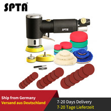 "SPTA 1""/2""/3"" Random Orbit Air Sander Mini Pneumatic Grinding Machine for Car Polishing High Speed Air Powered Sanding Polisher(China)"
