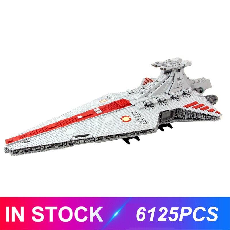 The Lepinblocks 05077 UCS Venator Star Destroyer Compatible Star Moc Set Building Blocks Bricks Educational Toys Birthday Gift