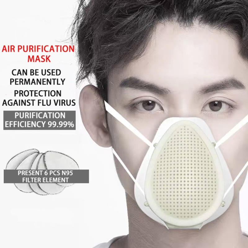 Influenza Protective Mask Smart Electric Anti-fog Pm2.5 Dustproof Breathable Anti-odor Mask Protective Mask