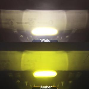 Image 5 - 6 Inch 20W Slim LED Work Light Bar Amber Fog Drive Lamps For Offroad Trucks Boat ATV 4x4 4WD Marine Trailer Driving Barra Lights